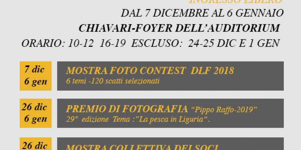 All'Auditorium San Francesco la mostra dei fotografi del DLF Chiavari