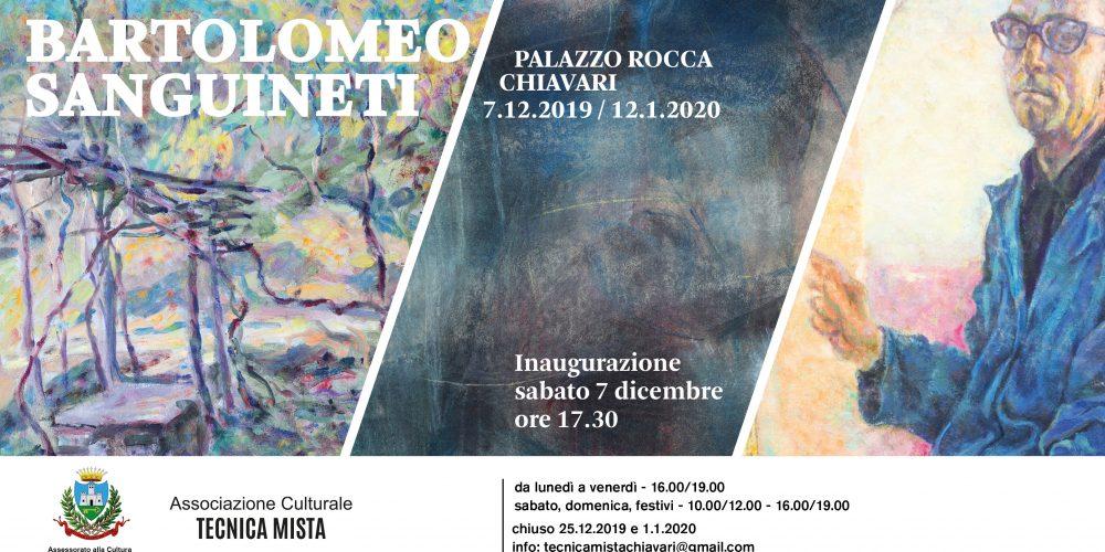 A Palazzo Rocca la mostra di Bartolomeo Sanguineti