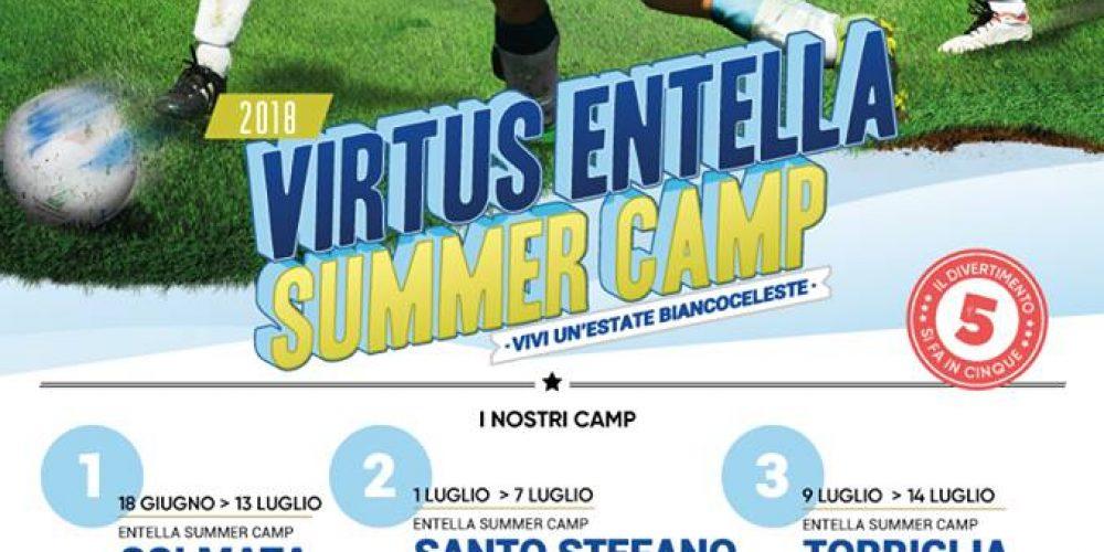 I campi estivi della Virtus Entella