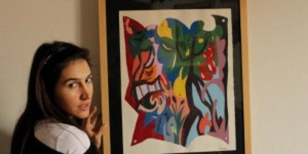 La mostra di Hélène Cortese